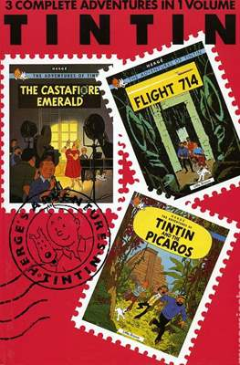 Tintin - 3 Complete Adventures in 1 Volume (Hardcover) #7