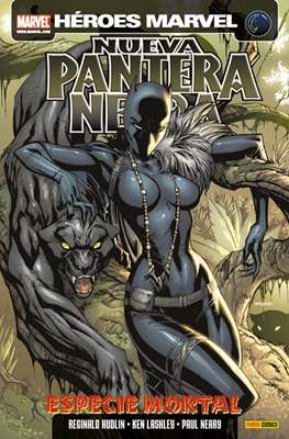 Nueva Pantera Negra (2010). Heroes Marvel