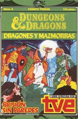 Dungeons and dragons. Dragones y mazmorras #4