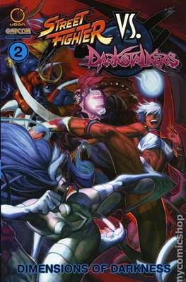 Street Fighter Vs. Darkstalkers (Softcover 144-112 pp) #2