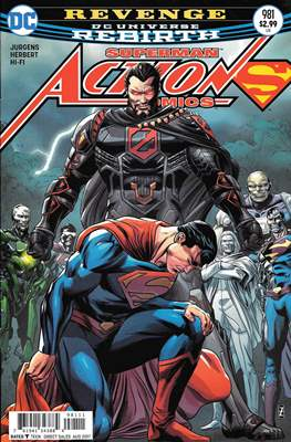 Action Comics Vol. 1 (1938-2011; 2016-) (Comic Book) #981