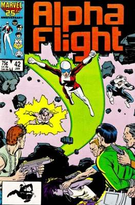 Alpha Flight Vol. 1 (1983-1994) (Comic Book) #42