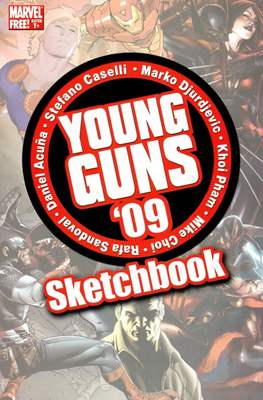 Young Guns Sketchbook 2009
