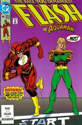 The Flash Vol. 2 (1987-2006) (Comic Book) #66