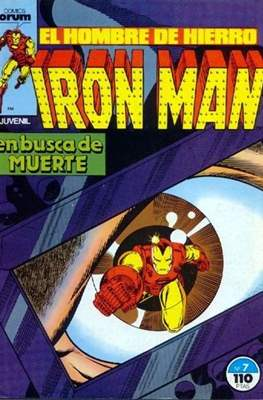 Iron Man Vol. 1 / Marvel Two-in-One: Iron Man & Capitán Marvel (1985-1991) (Grapa, 36-64 pp) #7