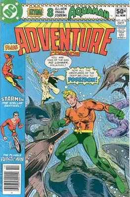 New Comics / New Adventure Comics / Adventure Comics (1935-1983; 2009-2011) (Saddle-Stitched) #476