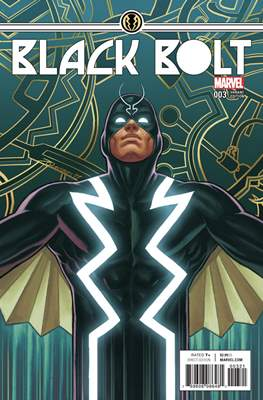 Black Bolt (Variant Covers) #3