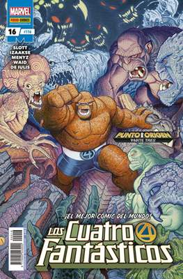 Los 4 Fantásticos / Los Cuatro Fantásticos Vol. 7 (2008-) (Grapa 24-48 pp) #116/16
