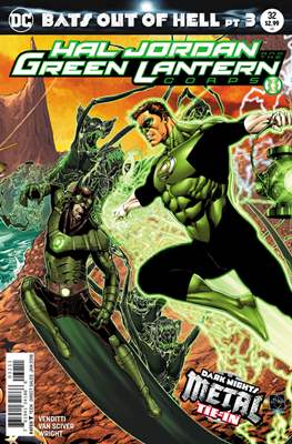 Hal Jordan and the Green Lantern Corps (2016-2018) (Comic-book) #32