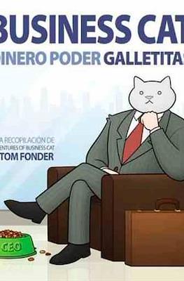 Business Cat: Dinero. Poder. Galletitas. (Rústica 128 pp) #