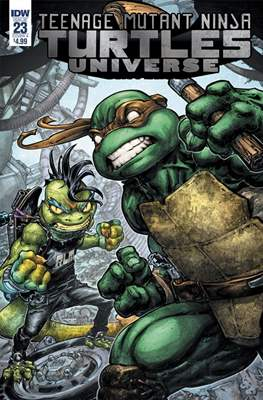 Teenage Mutant Ninja Turtles Universe (Comic Book) #23