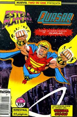 Estela Plateada Vol. 1 / Marvel Two-In-One: Estela Plateada & Quasar (1989-1991) (Grapa 32-64 pp) #21