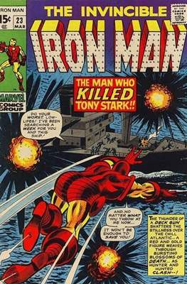 Iron Man Vol. 1 (1968-1996) (Comic book) #23