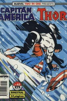 Capitán América Vol. 1 / Marvel Two-in-one: Capitán America & Thor Vol. 1 (1985-1992) (Grapa 32-64 pp) #63