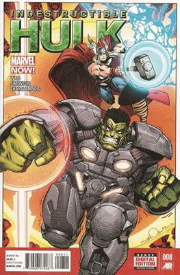 Indestructible Hulk (Comic Book) #8
