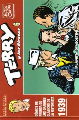 Terry y los Piratas. Biblioteca Grandes del Cómic #6
