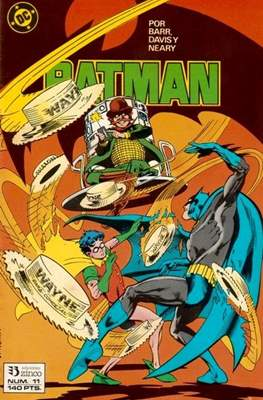 Batman (1987-1993) (Grapa) #11