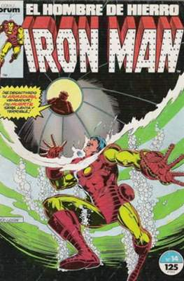 Iron Man Vol. 1 / Marvel Two-in-One: Iron Man & Capitán Marvel (1985-1991) (Grapa, 36-64 pp) #14