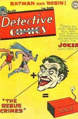 Detective Comics Vol. 1 (1937-2011; 2016-) (Comic Book) #137