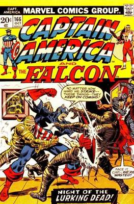 Captain America Vol. 1 (1968-1996) (Comic Book) #166