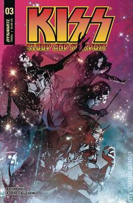 KISS: Blood and Stardust (Comic Book) #3