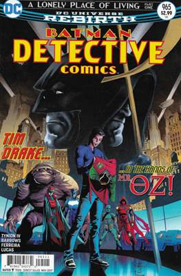 Detective Comics Vol. 1 (1937-2011; 2016-) (Comic Book) #965