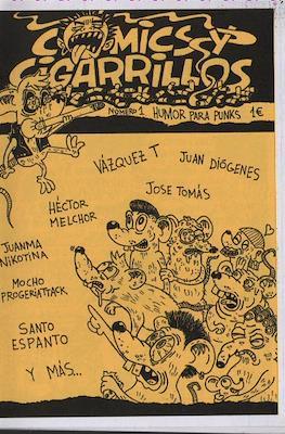 Comics y cigarrillos