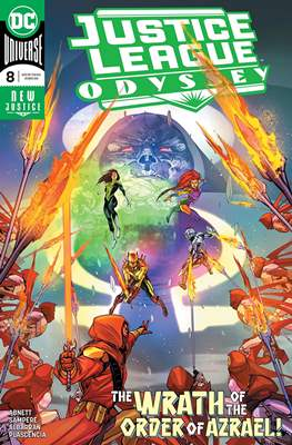 Justice League Odyssey (Comic Book) #8