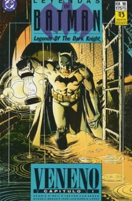 Leyendas de Batman. Legends of the Dark Knight (Grapa (1990)) #16