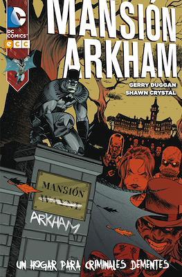 Mansión Arkham: un hogar para criminales dementes