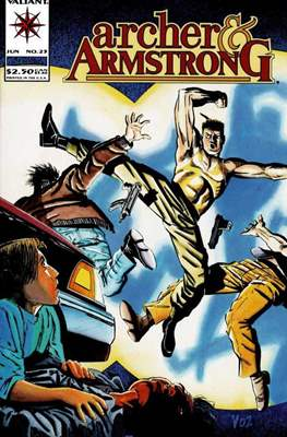 Archer & Armstrong (Comic-book) #23