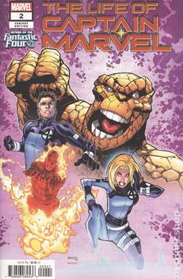 The Life of Captain Marvel (Variant Covers) (Comic Book) #2.2
