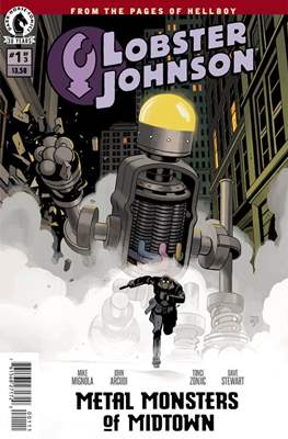 Lobster Johnson (Comic Book) #24