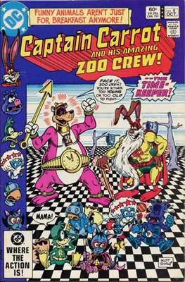 Captain Carrot and His Amazing Zoo Crew #8