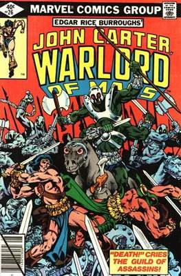 John Carter Warlord of Mars Vol 1 (Comic-book.) #26