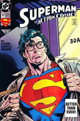 Action Comics Vol. 1 (1938-2011; 2016-) (Comic Book) #692