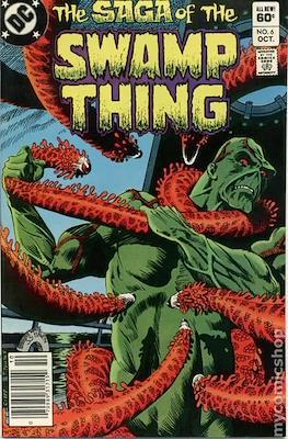 Swamp Thing (1982-1996) #6