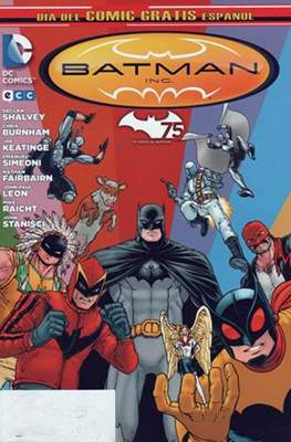 Batman Inc. Día del Cómic Gratis Español 2014