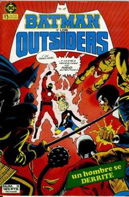Batman y los Outsiders / Los Outsiders #3