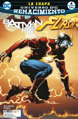Batman / Flash: La chapa. Renacimiento. (Grapa 24 pp) #4