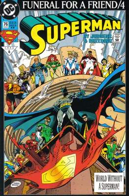 Superman Vol. 2 (1987-2006) (Comic Book) #76