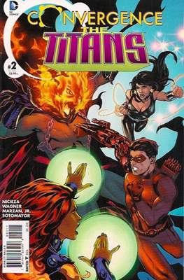 Convergence The Titans (2015) (Saddle-stitched) #2