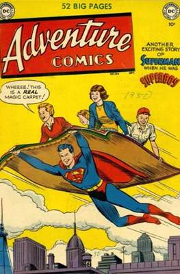 New Comics / New Adventure Comics / Adventure Comics (1935-1983 ; 2009-2011) #156