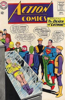 Action Comics Vol. 1 (1938-2011; 2016-) (Comic Book) #318