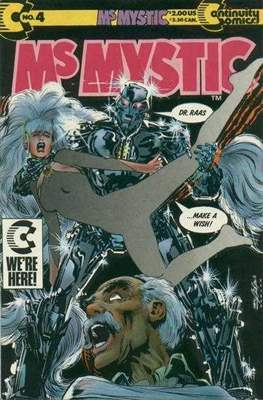 Ms. Mystic (1987-1992) (Grapa) #4