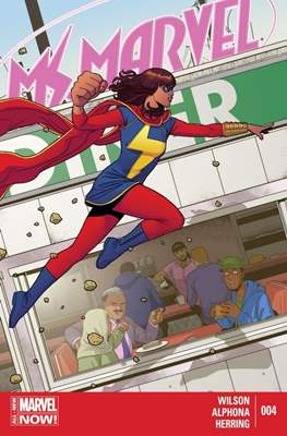 Ms. Marvel (Vol. 3 2014-2015) (Grapa) #4