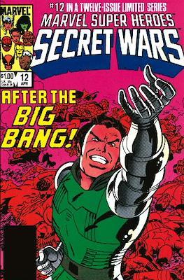 Marvel Super Heroes Secret Wars (Comic Book) #12