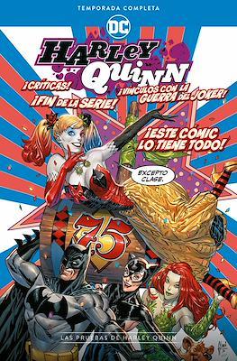 Harley Quinn: Temporada completa - Las pruebas de Harley Quinn (Rústica 312 pp)