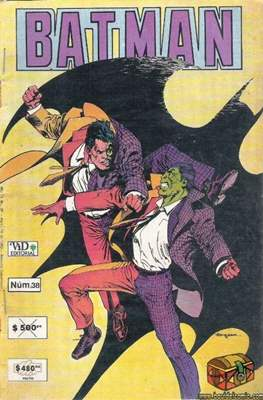 Batman (1987-2002) (Grapa) #38