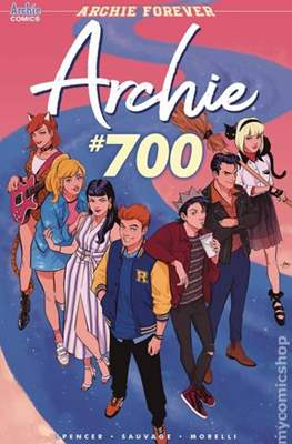 Archie (2015- Variant Cover) (Comic Book) #700.5